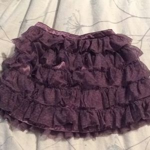 Girls ruffle skirt